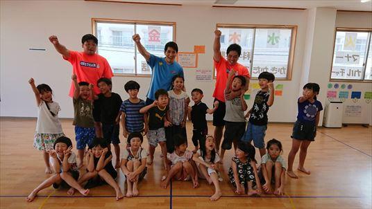 Kids JR高取でスポーツ体験を開催しました